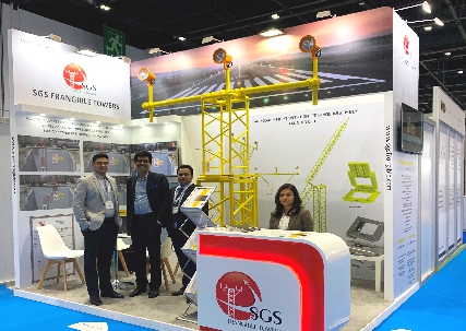 sgs-frangible-tower-participated-in-airport-show-2019