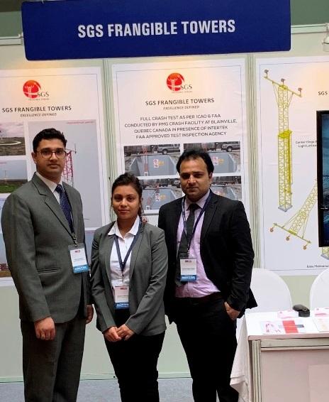 sgs脆弱参加了印度机场的年度会议2019年XNUMX月